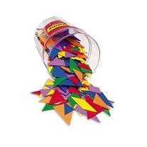 Learning Resources Classpack Tangrams  6 Colors