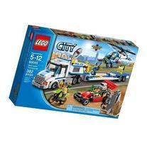 Lego, City, Helicopter Transporter