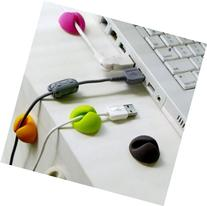 Liroyal Multi-purpose Cable Clips, Multiple Color Options,