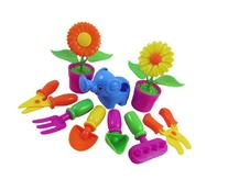 Little Garden Tools 9-Piece Gardening Set for Kids