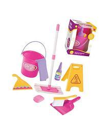 Little Helper Pretend Play Toy Cleaning Play Set w/ Mop,