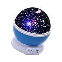 Lizber Baby Night Light Moon Star Projector 360 Degree