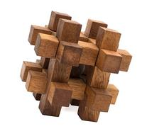 Lock it Up: Handmade & Organic 3D Wooden Puzzle for Adults