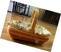 Longaberger 2000 Mother's Day Early Blossoms Basket,Liner &