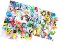 OliaDesign Pokemon Pikachu Monster Mini Plastic Figure ,
