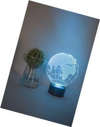 Loveboat 7 Color Amazing Optical Illusion 3D Glow LED Lamp