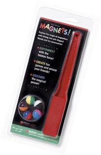 MAGNET WAND AND MARBLES by Dowling Magnets