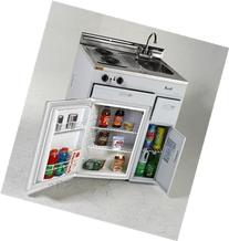 MAS CK3016 30 in. Complete Compact Kitchen - 2.2 CF