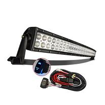 "MICTUNING 50"" 288W 3B439C Curved LED Work Light Bar Combo"