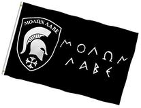 """MOLON LABE"" FLAG, ""COME and TAKE IT"" Spartan banner, 3'x5"