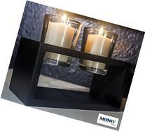 MONOINSIDE Decorative Tabletop Votive Candle Holder Glass
