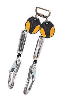 MSA 10157862 Workman Mini Personal Fall Limiter, Twin-Leg,