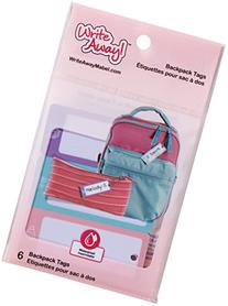 Mabel's Labels - Write Away - Backpack Tags / Lunchbox &