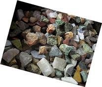 Madagascar Minerals Labradorite 12 Stones Mix, 2lb