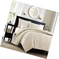 Madison Park Quebec Coverlet Quilted Cotton Fill Mini Set,