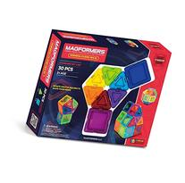 Magformers Standard Rainbow Clear Solid Set