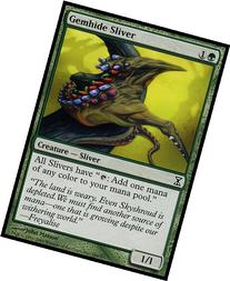 Magic: the Gathering - Gemhide Sliver - Time Spiral