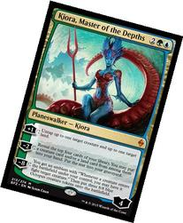 Magic: the Gathering - Kiora, Master of the Depths  - Battle