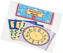 Magnet Math - Telling Time with Clocks