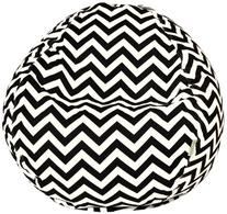 Majestic Home Goods Zig Zag Small Bean Bag