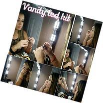 Make-up Vanity LED Kit / Mirror Kit, 10 LED Vanity Lights +