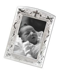 Malden International Designs Baby Baptism Two-Tone Picture