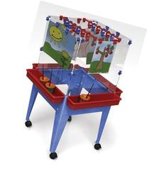 Manta Ray S13824 Youth 4 Station Space Saver Easel