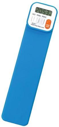 Mark-My-Time Digital Bookmark- Neon Blue