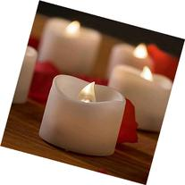 Flickering Flameless Candles - 12 Romantic Battery Operated