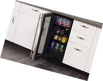 Marvel ML15BCG1RS Beverage Center, Glass Door, Right Hinge,