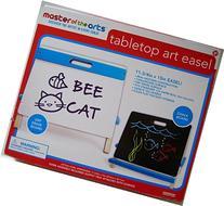 Master of the Arts Children's Tabletop Art Easel, Dry Erase
