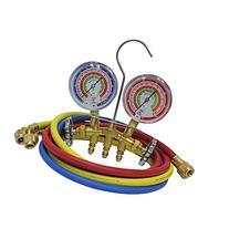 MASTERCOOL 59161 Brass R410A, R22, R404A 2-Way Manifold