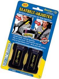 Masterlink Marketing 296-bu Black Seatbelt Adjuster