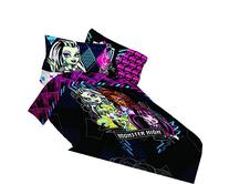 Mattel Monster High My BFF Crew Twin Comforter, 64 by 86-