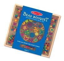 Melissa & Doug Bead Bouquet Wooden Bead Set - Kids Crafts