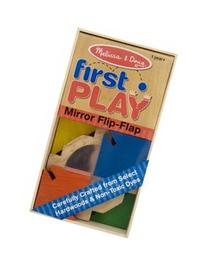Melissa Doug Mirror Flip-Flap Color Toy