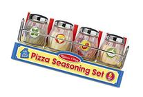 Melissa & Doug Condiments Set  - Play Food, Stainless Steel