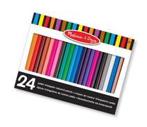 Melissa & Doug Triangular Jumbo Coloured Pencils