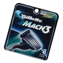 Men blade,Gillette Mach 3 Blade 8pcs