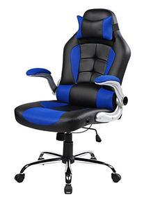 Merax High-back Ergonomic Pu Swivel Chair Computer Desk