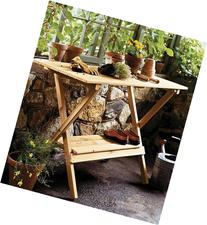 Merry Products Simple, Foldable, Portable Potting Bench /