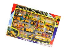 Metro Complete Construction Crew 43 Piece Mini Toy Diecast
