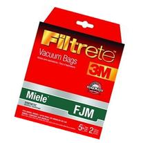 Filtrete 3M Miele FJM Synthetic Vacuum Bag - 5 bags + 2