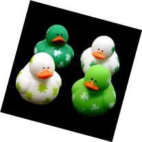 Mini Shamrock Rubber Ducks : package of 24