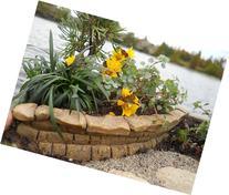 Miniature Fairy Garden Resin Stone Wall