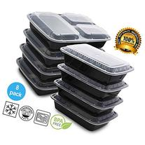 Mixed Meal Prep Containers Set - Bento Lunch Boxes /