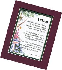 Mom A Mother's Day Present Poem Birthday Gift For A Mother
