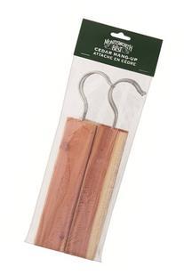 Moneysworth & Best Cedar Hangers, 4 pack