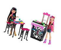 Monster High Creepteria with Cleo de Nile and Howleen Wolf