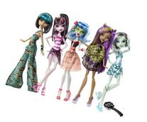 Monster High Skull Shores 5 Pack w/ 3 exclusive Dolls